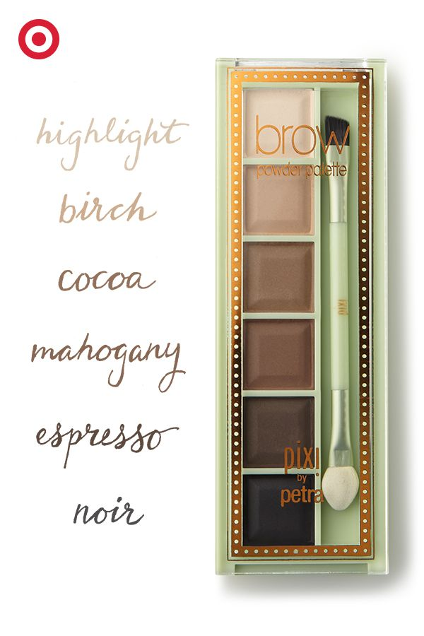 Pixi by petra brow powder palette shades of brows 0 2 oz for Shades of neutral colors