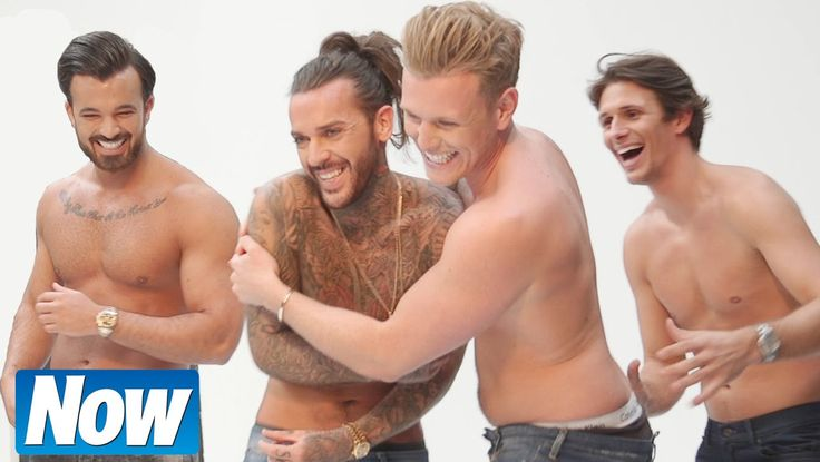 TOWIE's Pete Wicks, Michael Hassini and more stripped BARE - YouTube