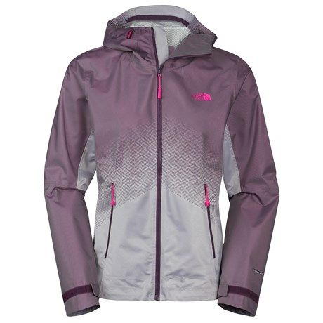 The North Face Fuseform Dot Matrix Rain Jacket - Waterproof (For Women))