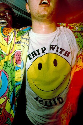 1988 Trip with Aciid t-shirt Trip acid house club night the Astoria London