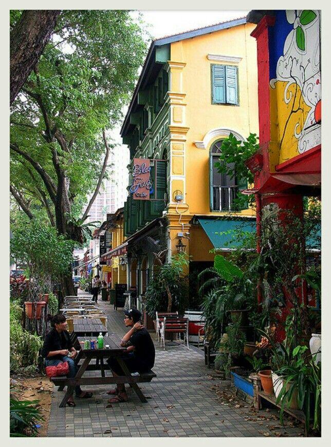 blu jazz cafe, bali lane , kampong glam.. #SGTravelBuddy