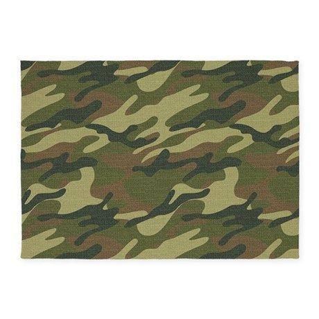 Military Uniform 5x7Area Rug on CafePress.com