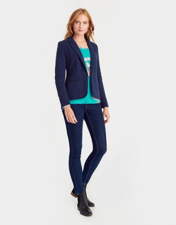 Joules Justine Women Textured Blazer