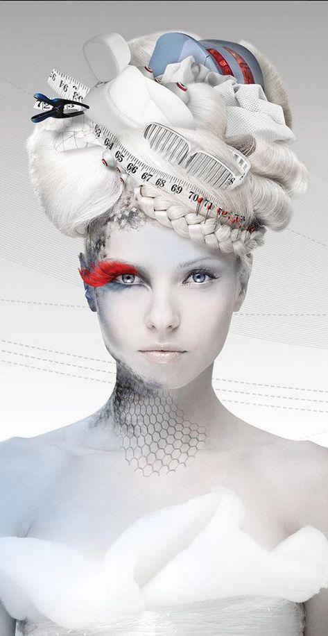 Avant garde #hair
