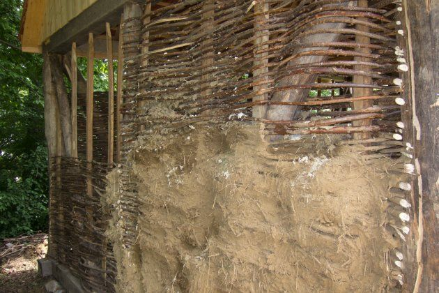 Wattle And Daub For Interior Walls House Ideas