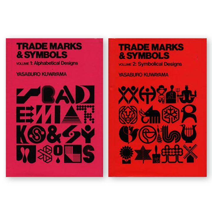 Trademarks & Symbols Vol 1 y 2 (1973) de Yasaburo Kuwayama disponibles en PDF. Si antes costaban $2500 USD, ahora son gratuitos