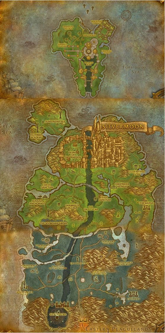 wow map 81 best Art Fantasy
