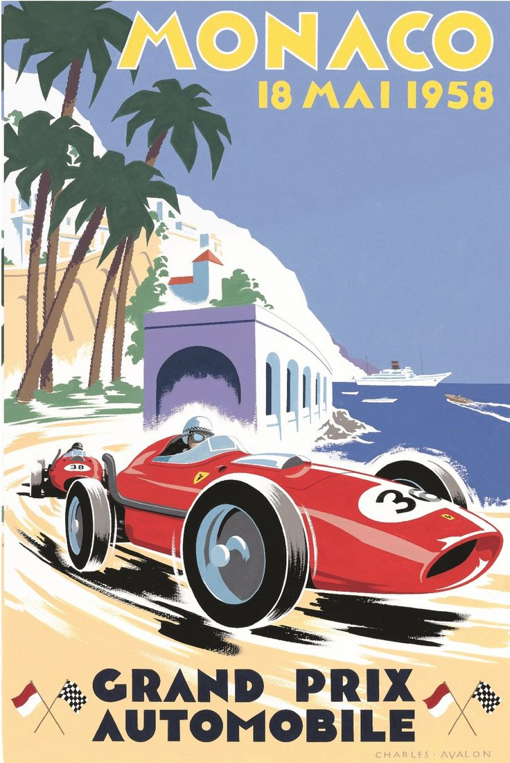 71 best monaco grand prix posters images on pinterest monaco grand prix car posters and event. Black Bedroom Furniture Sets. Home Design Ideas