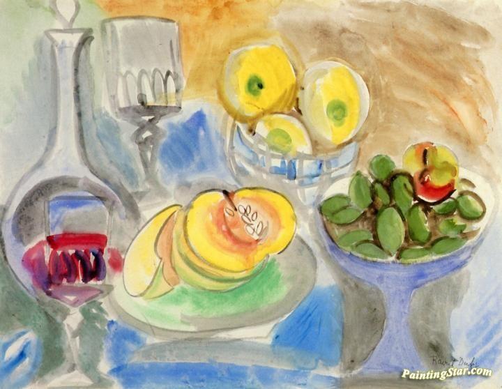 Raoul Dufy 拉烏爾.杜菲是法國野獸派(印象派)畫家,開發豐富多彩,裝飾風格,成為當時的時尚設計師和陶瓷藝術家.版畫家.插畫家[1877年1953年](第二輯)。。。 - ☆平平.淡淡.也是真☆  - ☆☆。 平平。淡淡。也是真。☆☆ 。