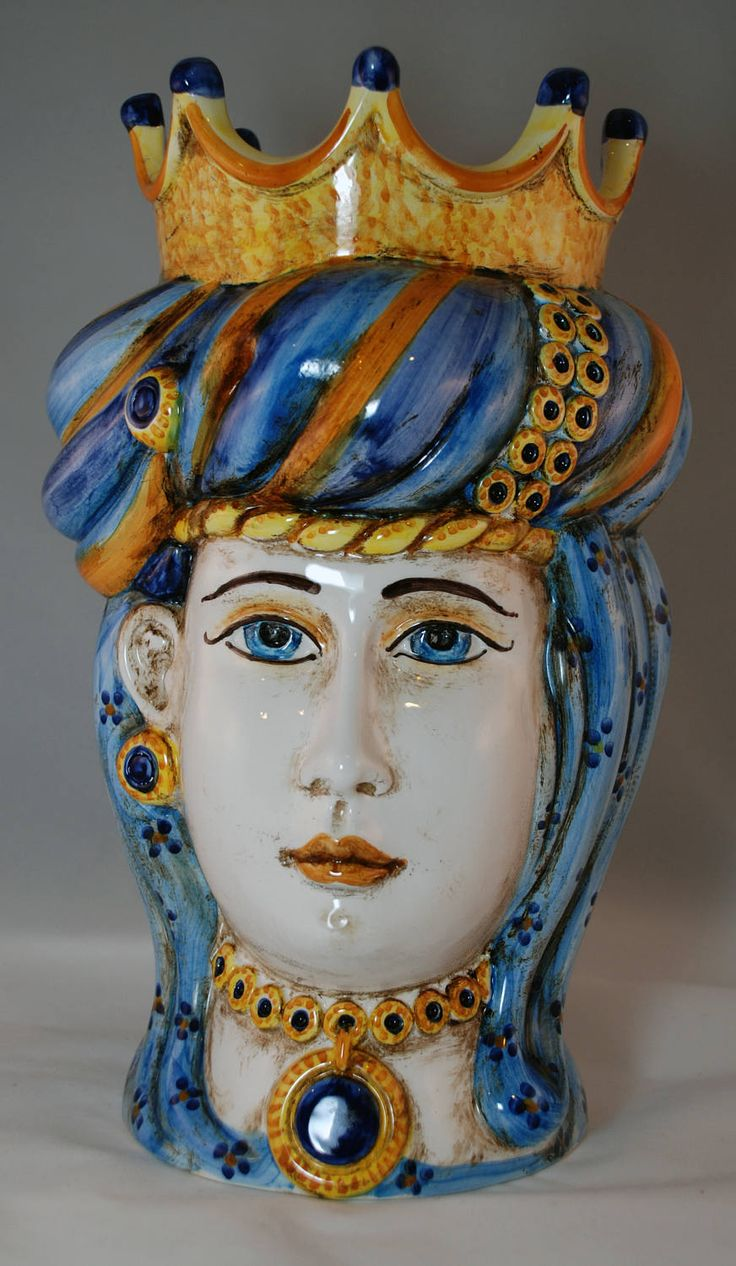 "Traditional Sicilian Head ""Princess"" by APutiaduRe on Etsy"