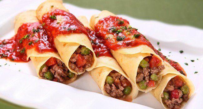 Receita de panqueca de carne com creme de cebola Ideal para um almoço rápido por Redação