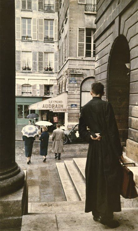 Color Photographs of Paris in the 1950's | FreeYork