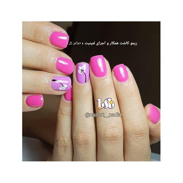 New The 10 Best Nail Ideas Today With Pictures Nailart Nadia Laminet Polyzhel Nail Nail Nailart Chrome Nails Nadia Gelish Cataye کروم ژ Nails Beauty