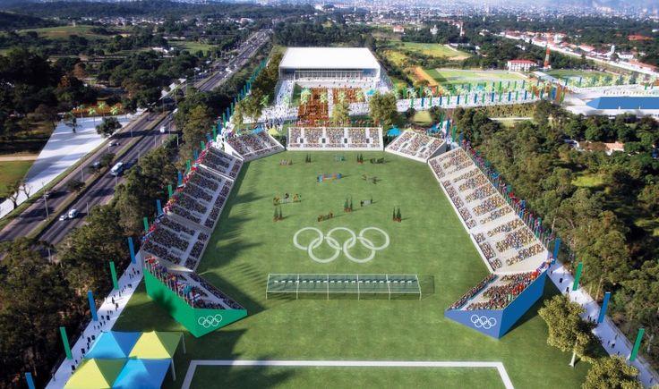 Rio Jogos Olímpicos de 2016 na Zona Deodoro