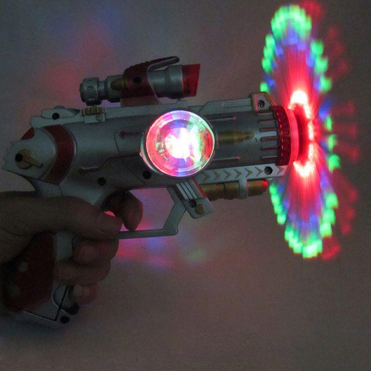 Goedkope 2015 3 Kleur Led Licht Muziek Pistool kinderen Knipperende Geluid Pistool Speelgoed, glow speelgoed, partij speelgoed, Kids Geschenken Kerstcadeau voor Kinderen # 1JT, koop Kwaliteit speelgoed geweren rechtstreeks van Leveranciers van China:     &n