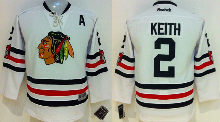 Chicago Blackhawks Jersey - White NHL Hockey Jersey - Several Players