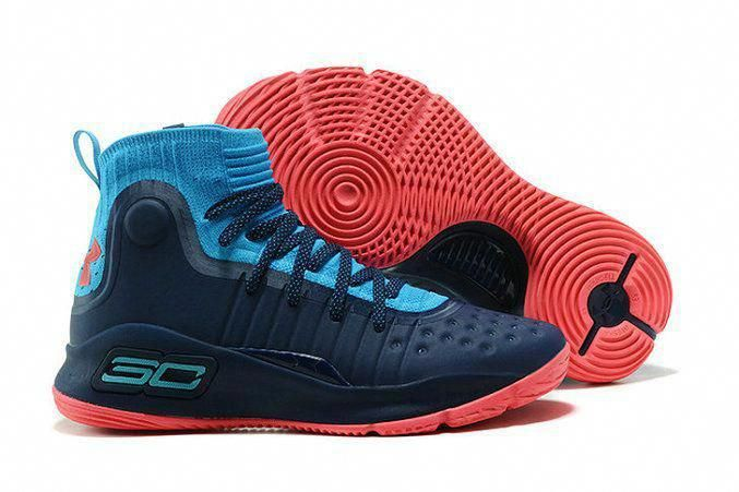 1916678466 ... clearance shop under armour curry 4 navy blue red stephen curry  basketball shoe for sale basketballshoessale