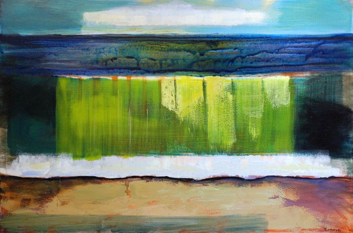 #BreakingWave from #DublinBay Abstraction Series by #TomByrne from #DukeStreetGallery Dublin