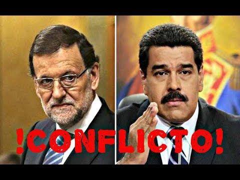 ULTIMA HORA: MADURO !ESTALLA CON RAJOY!