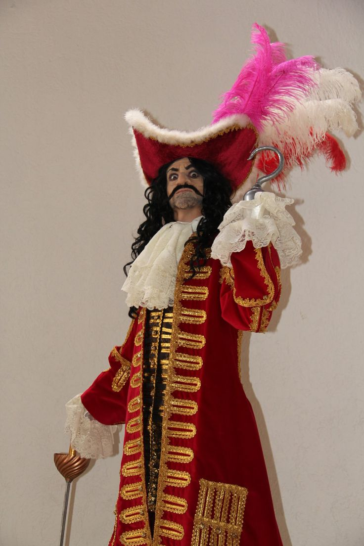 Captain Hook Costume and makeup by JooSkellington.deviantart.com on @deviantART