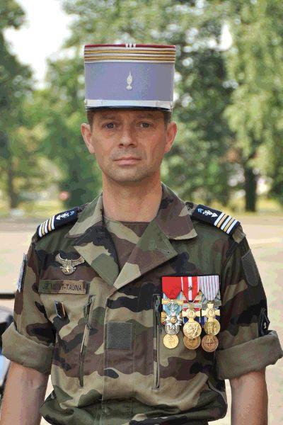 84e Le Lieutenant-Colonel Millet-Taunay- Galerie des chefs de Corps du 2° Régiment de Hussards