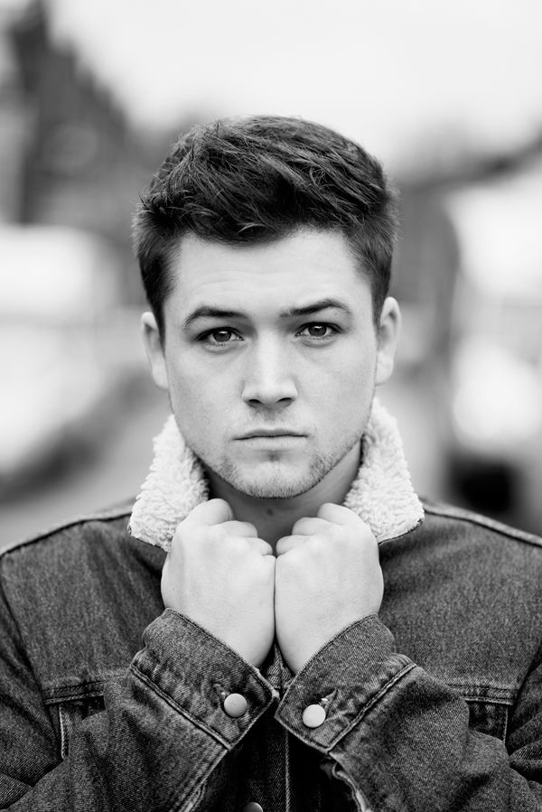 Taron Egerton. So darn cute! The kind of man I like!