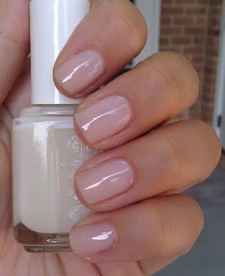 Essie's Allure (Kate Middleton wore it on her wedding day and it's her favourite nailpolish) very classy
