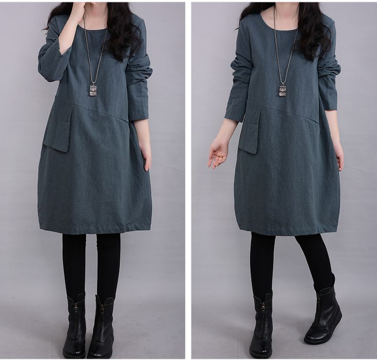 New 2017 Winter Autumn Casual Maternity Dresses Pregnancy Dress for Pregnant Women Loose Knee-length Ropa Premama Clothes