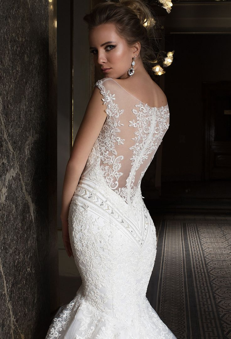 Wedding Dress By OKSANA MUKHA Couture In Charme Gaby Bridal Gown Boutique Tampa Bay FL