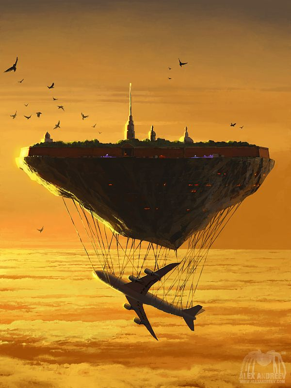 City P. Fortress by Alex Andreev