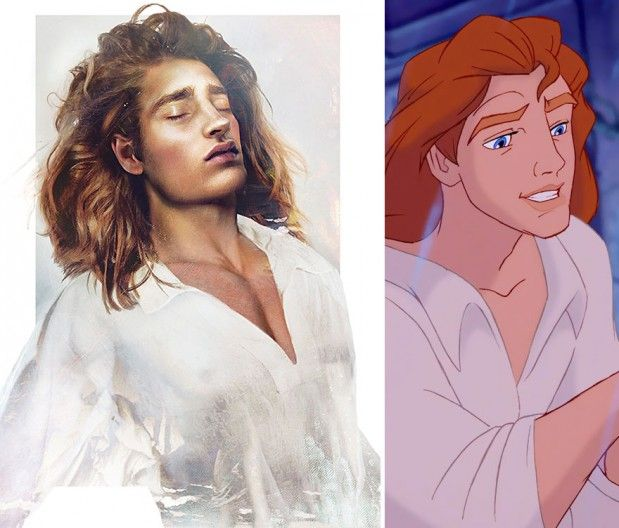 . disney illustrations new versions . PRINSSI ADAM
