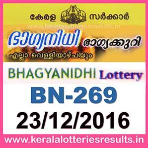 bn-269-live-bhagyanidhi-lottery-result-23-12-2016-kerala-lottery-results