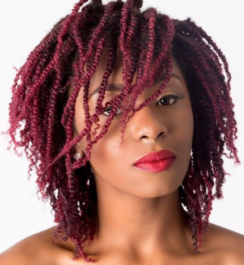Magnificent 1000 Ideas About Short Kinky Twists On Pinterest Two Strand Short Hairstyles Gunalazisus