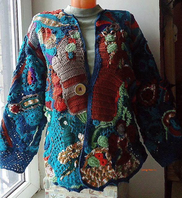 Song Mei Li's freeform jacket