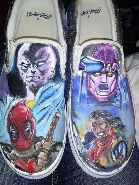 Hey, I found this really awesome Etsy listing at https://www.etsy.com/listing/194963943/hand-painted-marvel-shoes