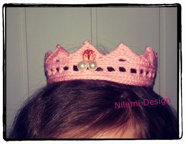 Nilemi Design: SWEET CROCHET CROWN