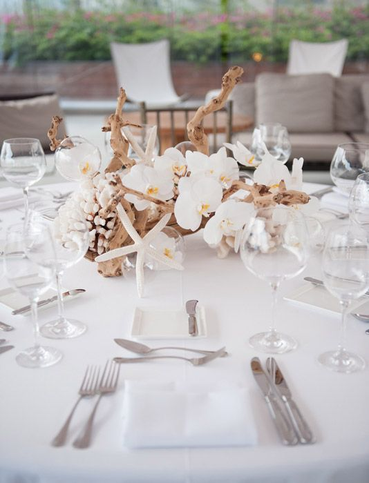 Mixing Branches With Flowers White Wedding Pinterest
