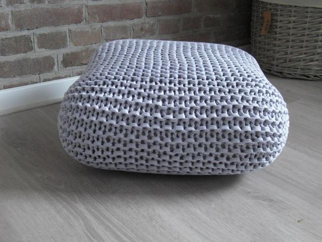 floor cushion in grey