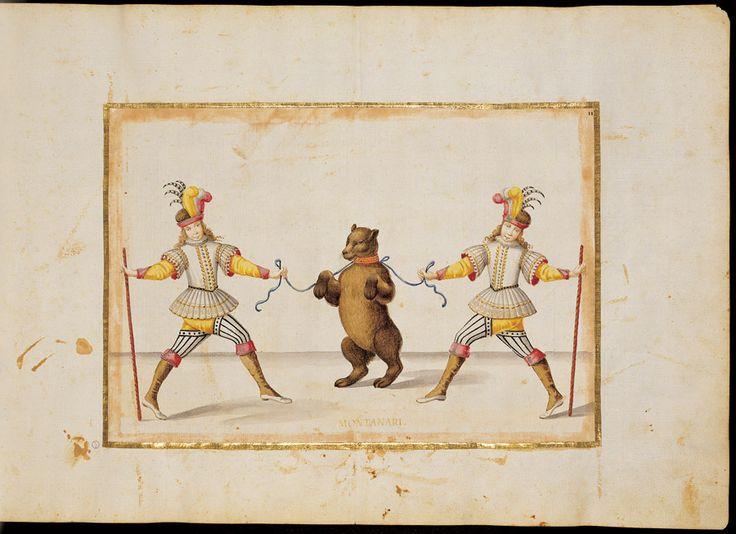 Giovanni Tomaso Borgonio, costumi per balletto di Filippo d'Agliè