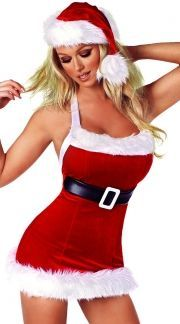 Santa Costume, Santa Clause Costume, Sexy Santa Costume