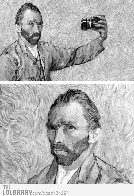 Van Gogh AutoPhoto. jaja