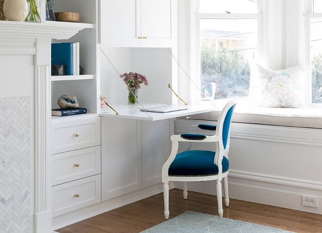 Cabinet Ideas For Living Room a fold-down desk keeps paperwork within reach but out of sight