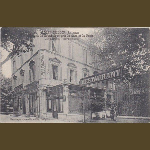 mas de la chapelle interview proprietaire. Restaurant De L\u0027ancien Hôtel Crillon à Avignon - Lefeuvre Propriétaire (date Approximative Mas La Chapelle Interview Proprietaire