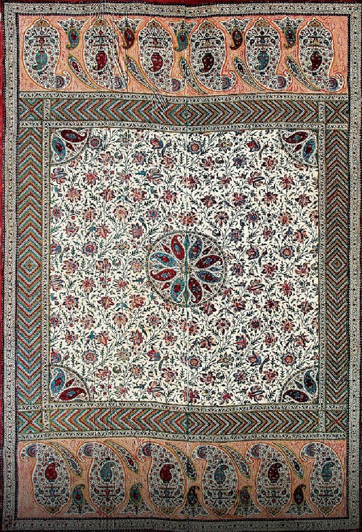 8 Best Indian Mughal Textile Images On Pinterest 17th