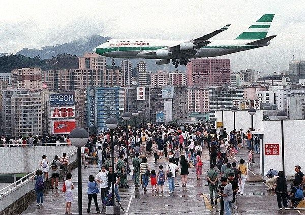 "The runway 13/31 earned the nickname ""Kai Tak Heart Attack."" (via Atlas Obscura) #flights & #hotels #Cruises #RentalCars #mexico #lajolla #nyc #sandiego #sky #clouds #beach #food #nature #sunset #night #love #harmonyoftheseas #funny #amazing #awesome #yum #cute #luxury #running #hiking #flying"
