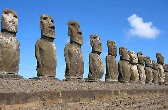 wonders of the world - Google Search-Easter Island