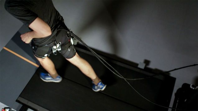 This Robotic Exosuit Could Turn You Into a Super Athlete  Credit: The Wyss Institute at Harvard University  Researchers from Wyss Institute and Harvard SEAS have developed a soft robotic exosuit that significantly boosts a persons running performance. The device requires a tether and external power supply to work but once it becomes portable it could help athletes run faster and further than before smashing their existing running records without having to undergo additional training.  In…