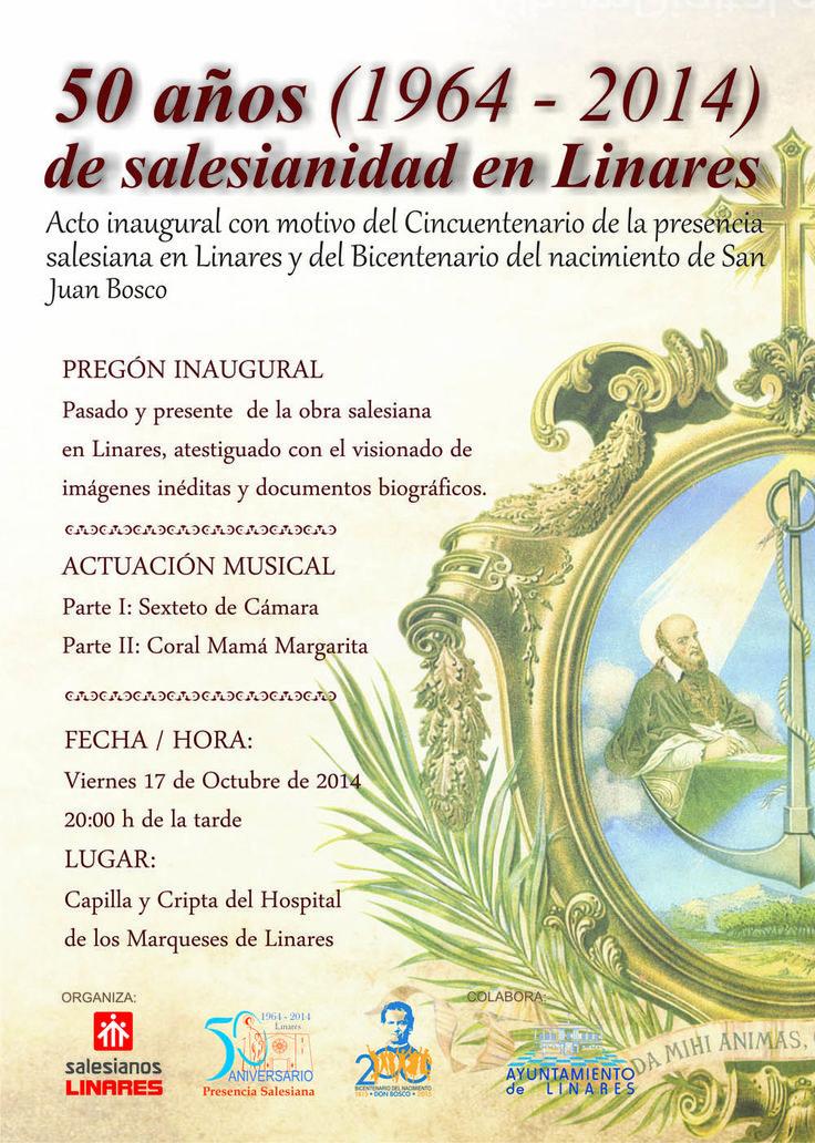 Actos del 50 aniversario de #Salesianos en #Linares...