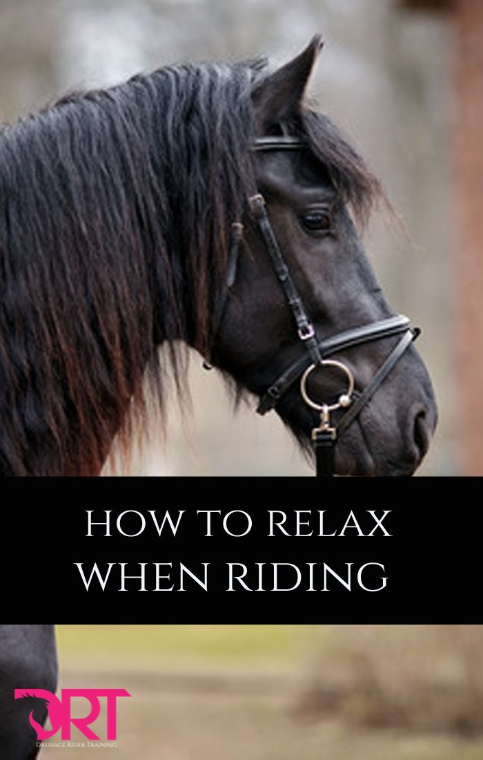 Great article on how to relax when riding.