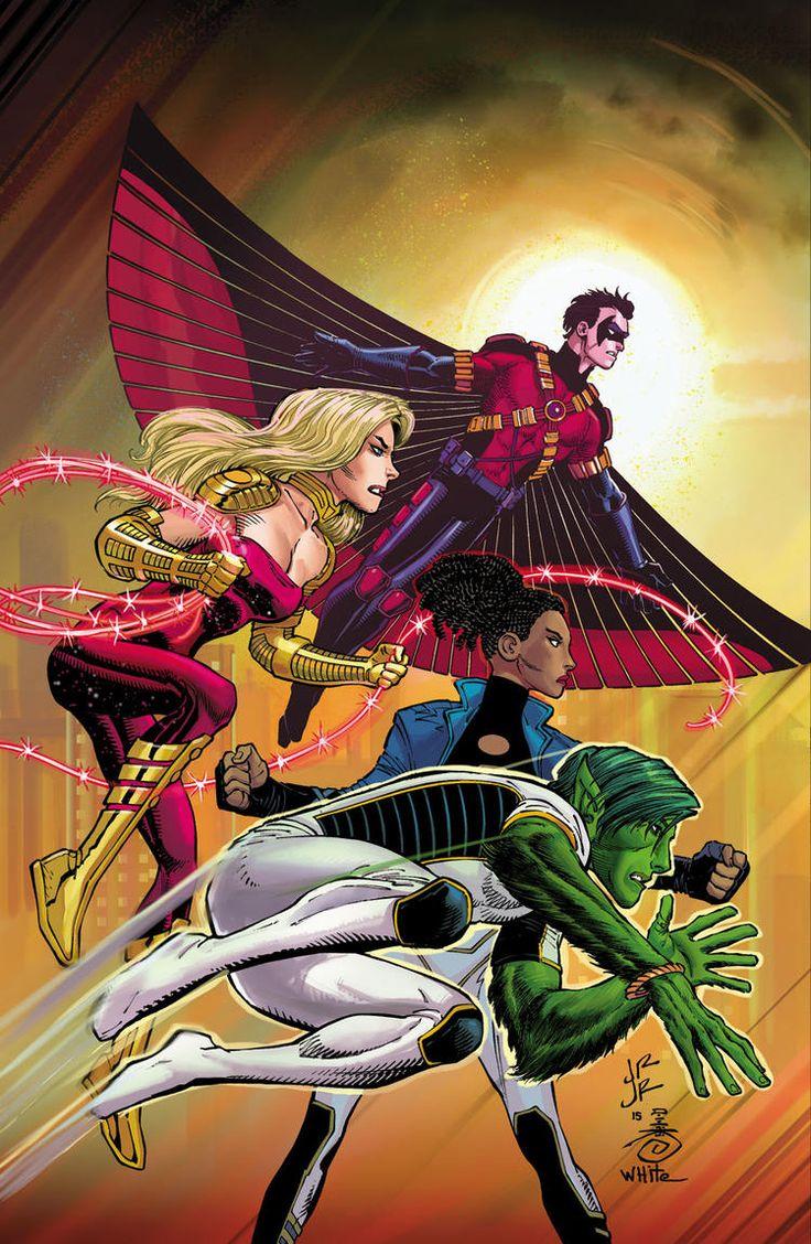 DC Comics libera capas de todas as revistas que lançará em abril de 2016! - Legião dos Heróis